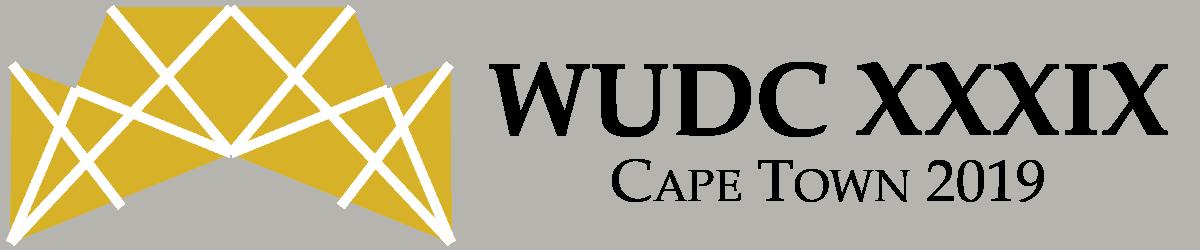 WUDC 2019 Cape Town