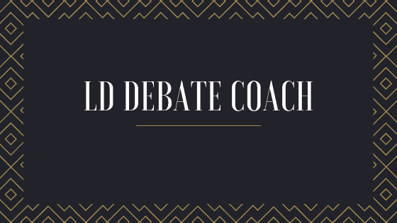LD private debate coach