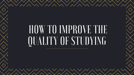 Performance improvement or how to improve the quality of studying and its results