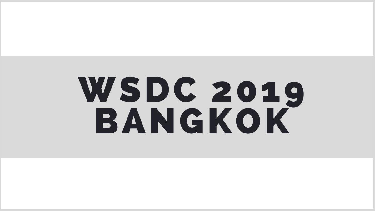 WSDC 2019 Bangkok motions