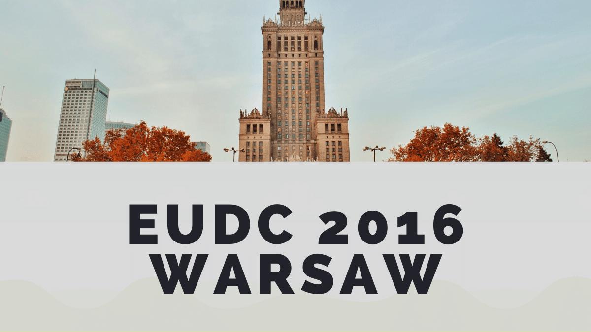 2016 Warsaw EUDC