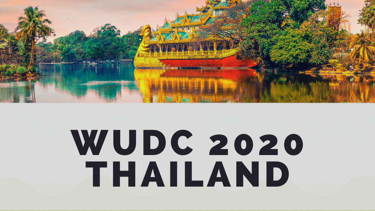 WUDC 2020 Thailand motions