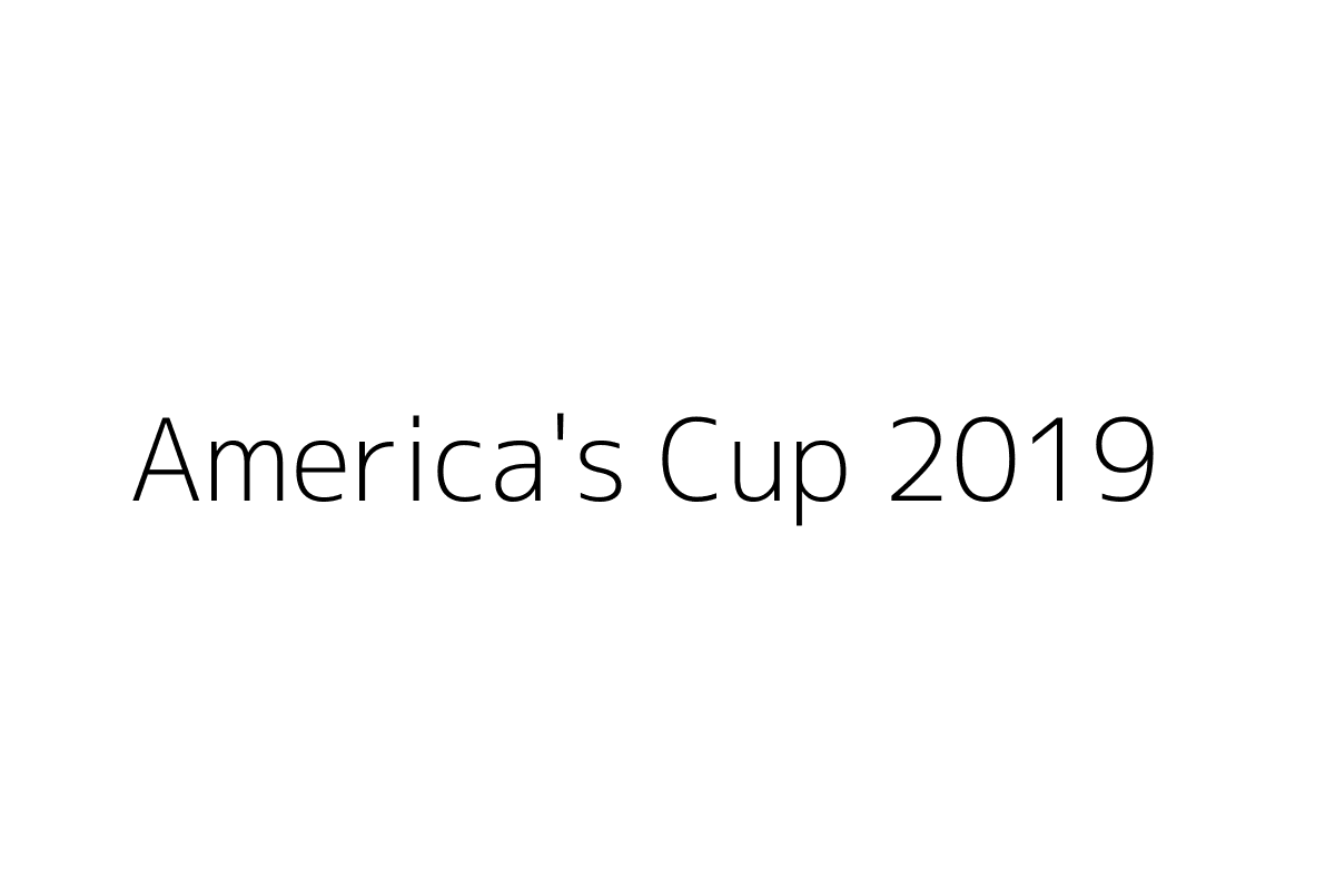 America's Cup 2019