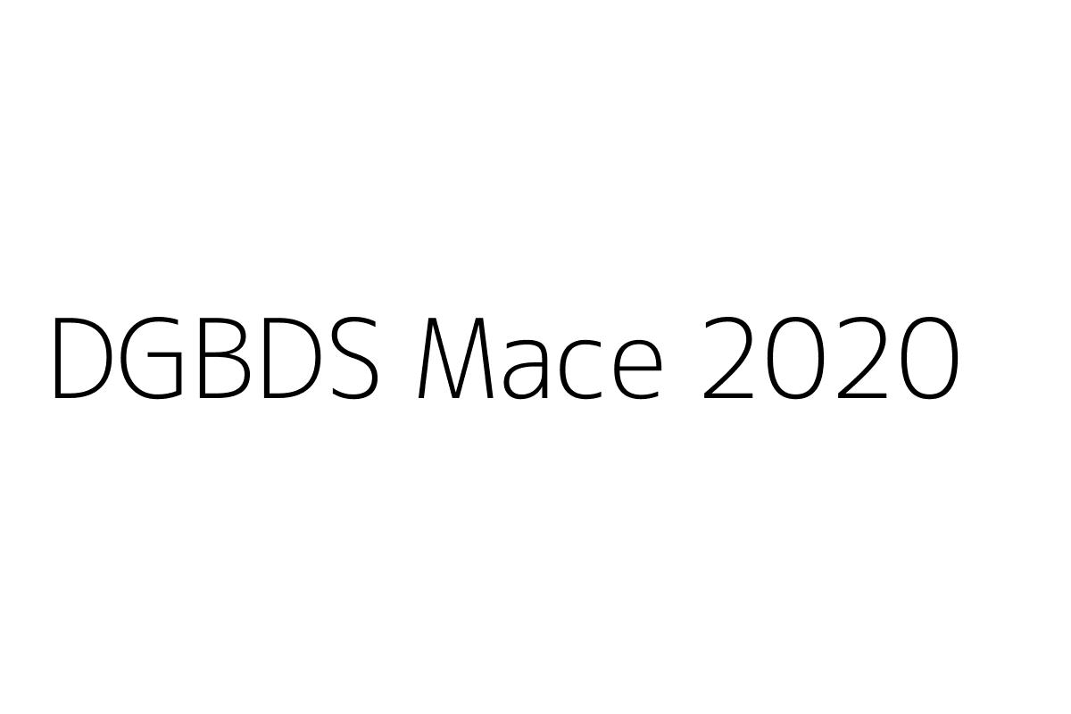 DGBDS Mace 2020