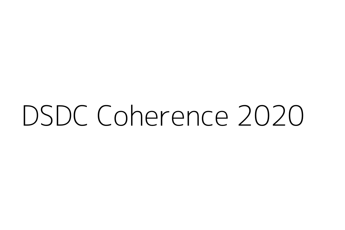 DSDC Coherence 2020