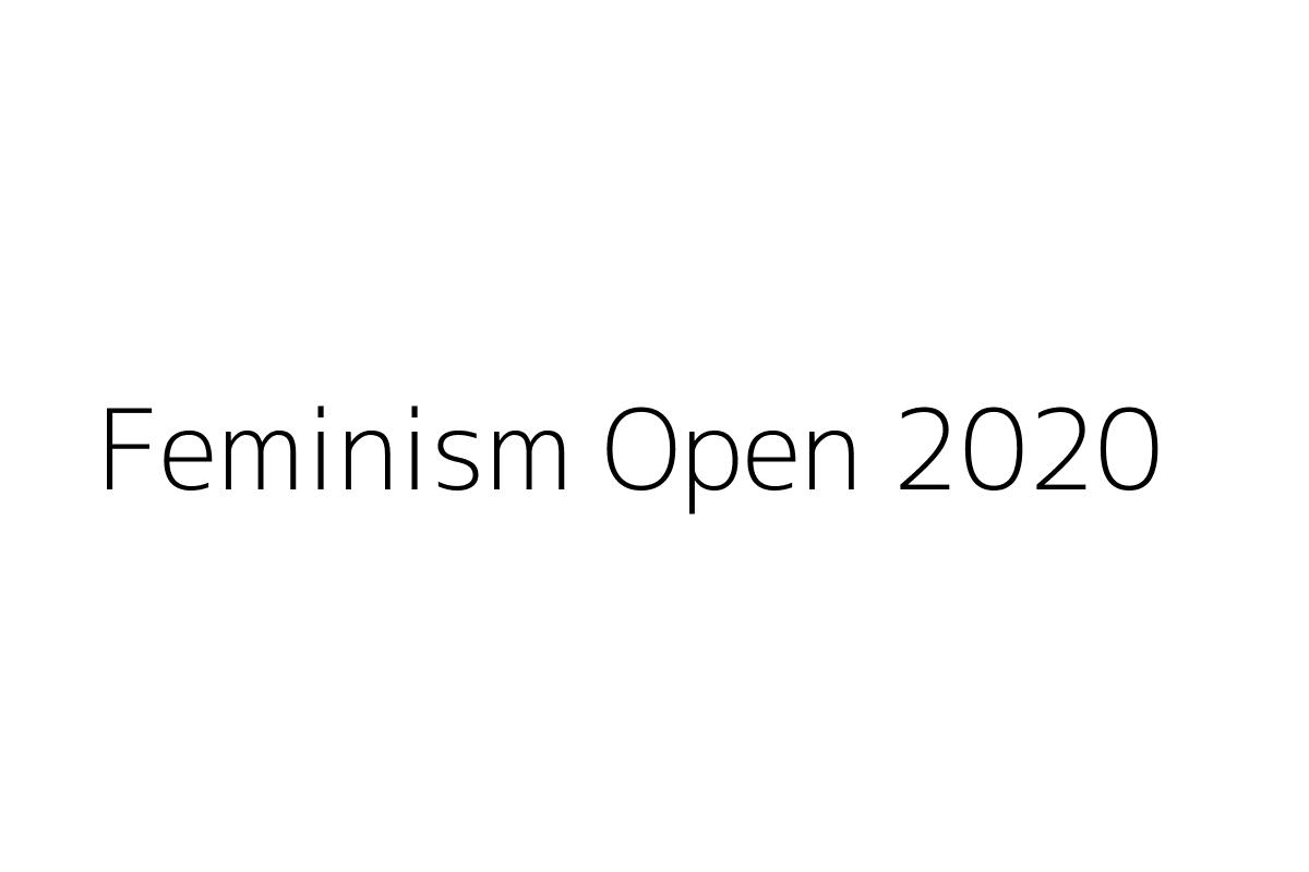 Feminism Open 2020