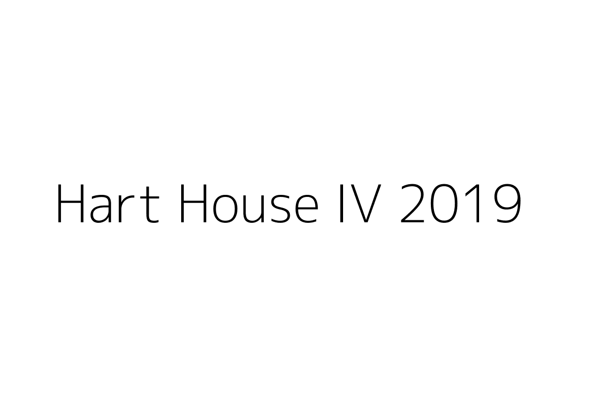 Hart House IV 2019