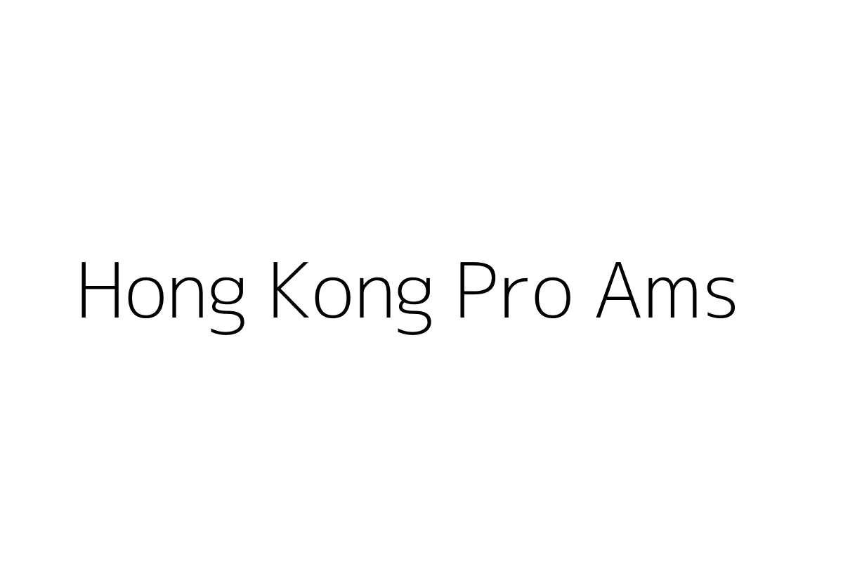 Hong Kong Pro Ams