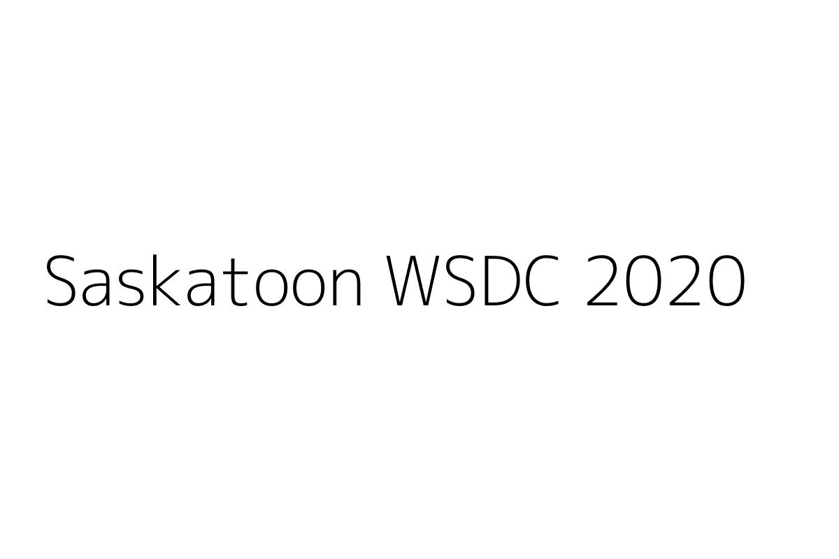 Saskatoon WSDC 2020