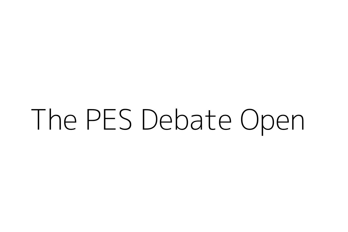 The PES Debate Open