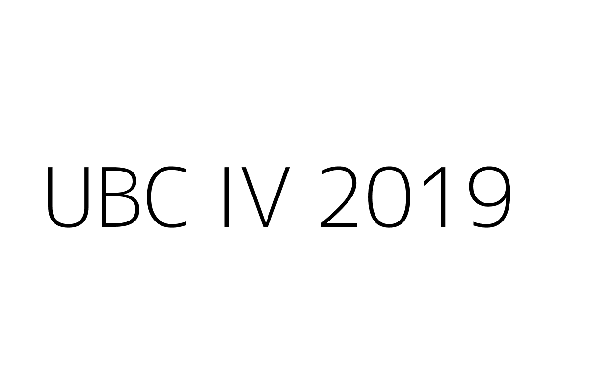 UBC IV 2019