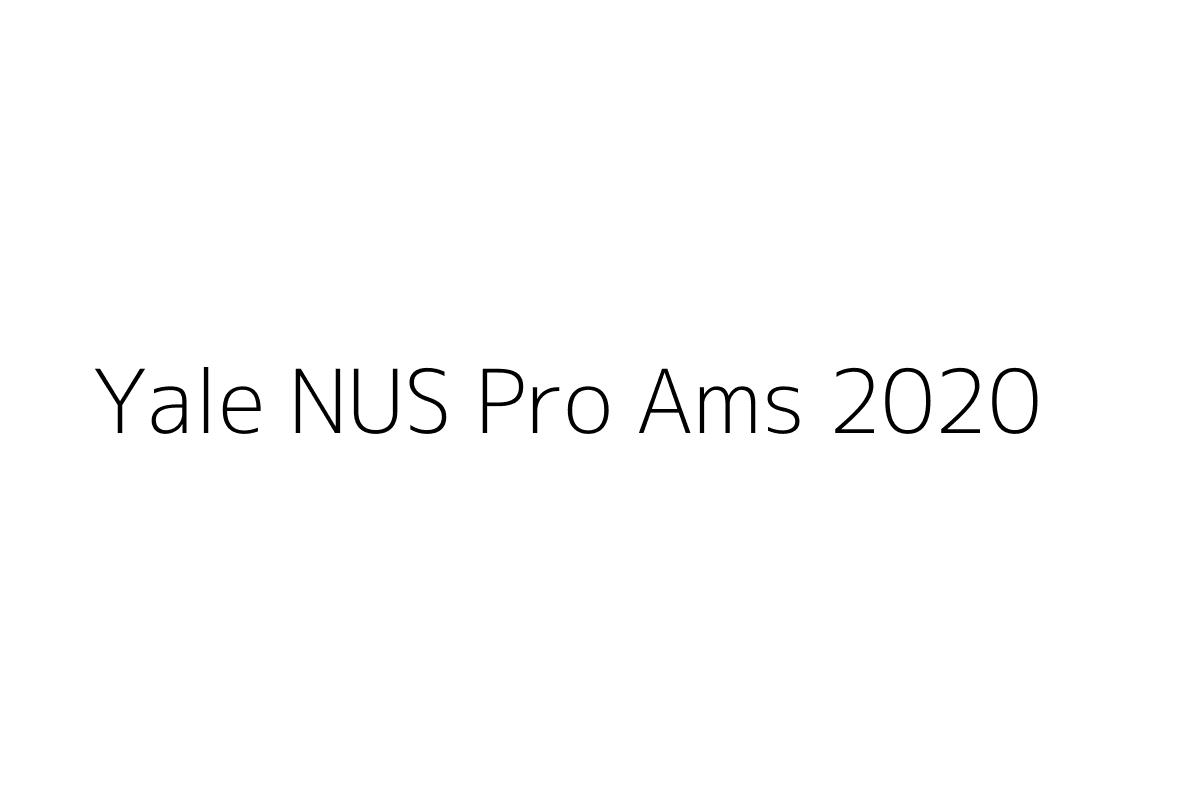 Yale NUS Pro Ams 2020
